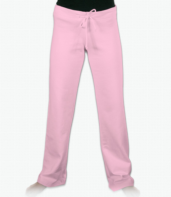 Bella Ladies 7.5 oz. Fleece Straight Leg Sweatpants