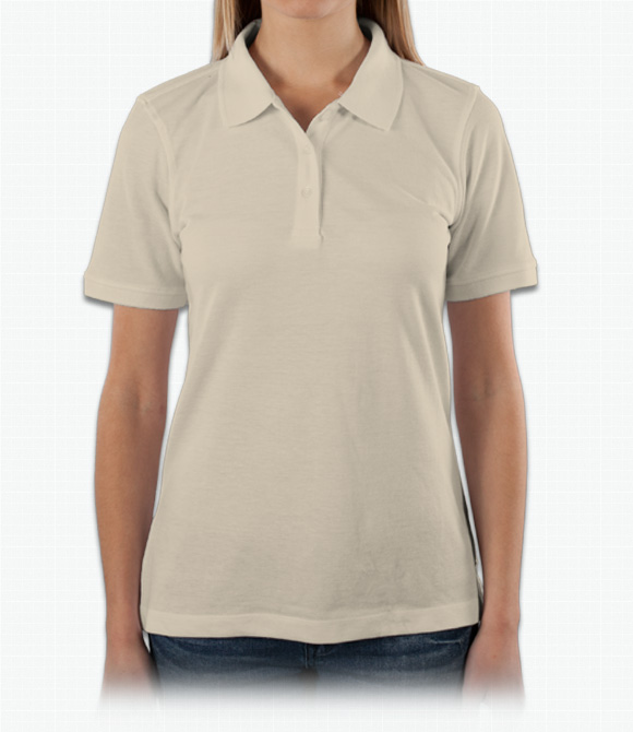 Harriton Ladies 5.6 oz. Easy Blend Polo