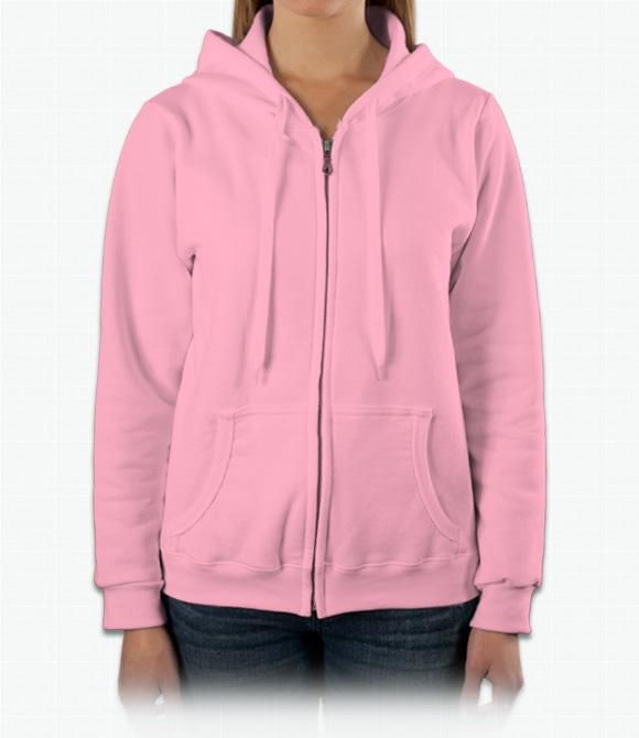 Gildan Ladies 8 oz. Heavy Blend 50/50 Full-Zip Hood