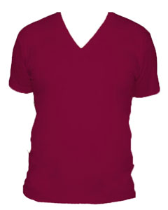 American Apparel Jersey V-Neck T-Shirt