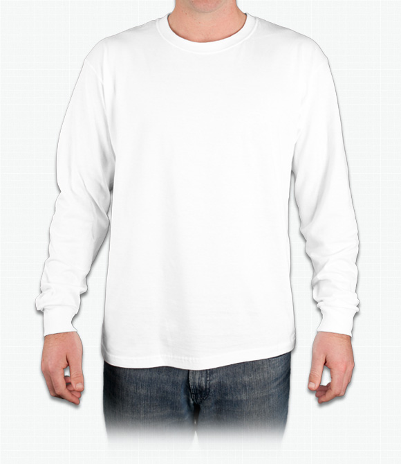 Jerzees Heavyweight 100% Cotton Long Sleeve T-Shirt
