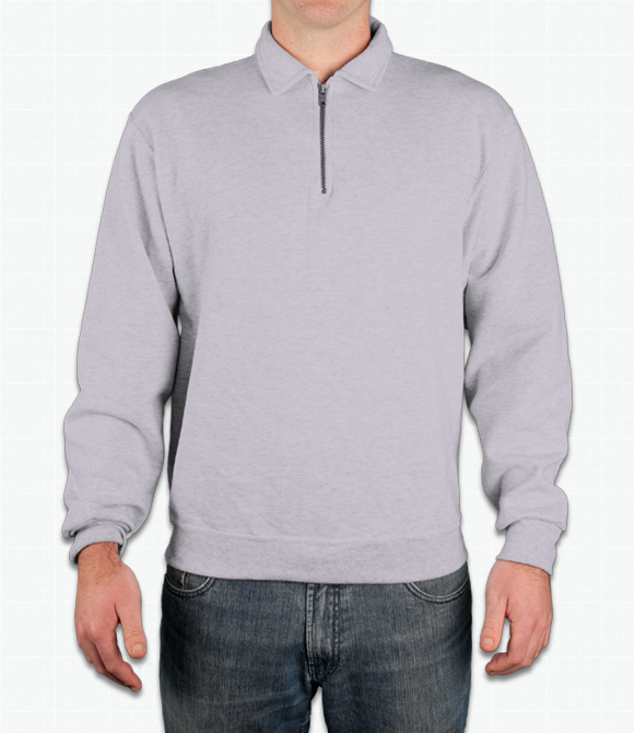 Jerzees Quarter-Zip Pullover Sweatshirt