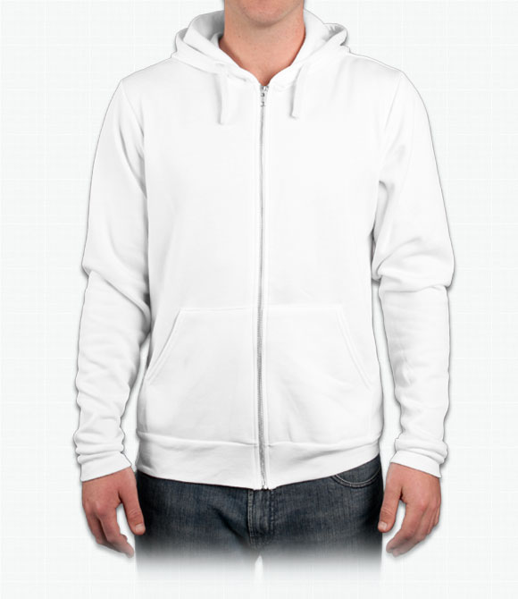 Canvas Unisex 8.2 oz. Triblend Full-Zip Hoodie