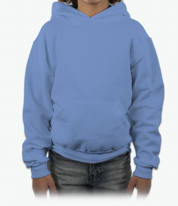 Jerzees Youth 50/50 Hooded Sweatshirt